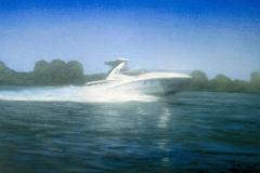 """2011 Acrylic on panel 14"""" x 24"""""""