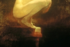 "1992 Oil on canvas 70"" x 52"""