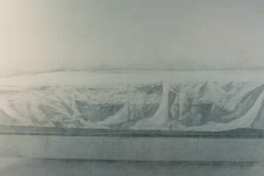 1991 Pencil on canvas 7' x 8'