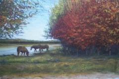 """2014 Acrylic on panel 16"""" x 20"""""""